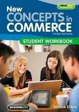 New Concepts in Commerce Student Workbook By Sennia Stahl Paperback