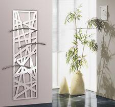 Garderobe Wandgarderobe Design Stripes, 140x40x2 cm, weiß (Kleiderständer)