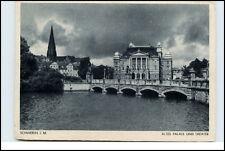 SCHWERIN Mecklenburg um 1940 Altes Palaisund Theater alte s/w Ansichtskarte
