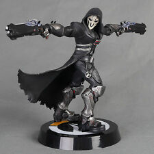 Blizzard OverWatch Reaper Reyes Wraith Blossom Black Action Figure Gifts