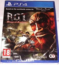 A. O. T. (ATTACK ON TITAN) WINGS OF FREEDOM FOR PS4: NEW & SEALED