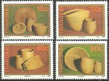 Transkei - Korbwaren Satz postfrisch 1989 Mi. 234-237