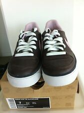 Nike Womens  SB Low Dunks Pink And Brown Leather (Retro)  Size 7 US