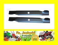Messer 2 Stk für Rasentraktor 92cm passend für AYP HUSQVARNA Roper Partner usw