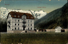 Mallnitz Österreich Kärnten AK ~1910 Hotel Ankogel Berge Alpen Gebäude Gasthaus