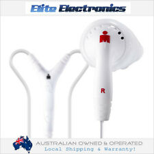 YURBUDS INSPIRE PRO WHITE PERFORMANCE FIT EARPHONES EARBUDS SPORT MIC IPHONE