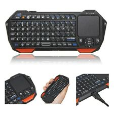 Bluetooth Tastatur Wireless Funk Keyboard + Touchpad Für Handy PC TV Mini