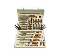 SBS Messerset 25 tlg. im Koffer-Messer-Geflügelschere-Messer Set-Steakmesser