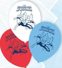 Spiderman Ultimate Latex Balloon 6 Pack Birthday Party Supplies Decorations