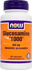 Glucosamine 1000 Now 60 Kapseln + 5 Euro Gutschein Eur21.47/100g