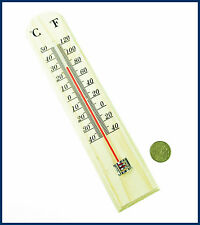 1 x Wall Thermometer Indoor Outdoor Home Garden Temperature C. & F.  From SYDNEY