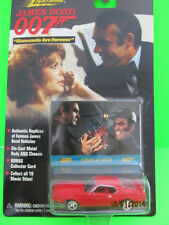 JAMES BOND 007 '71 FORD MUSTANG MACH 1 SEAN CONNERY MINT CAR ON CARD