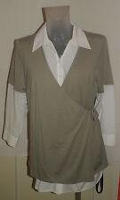 Top Bluse / Shirt / Tunika von Ulla Popken Gr. 46/48(Große Größen, Plus Size, )