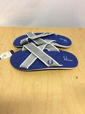 Fred Perry Spence Flip Flops Men's Regal Need To Be Flattened SHOES Size XL