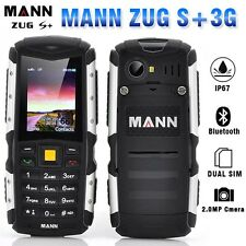 "Unlocked MANN ZUG S+ IP67 2"" Dual Sim 3G Outdoor Rugged Mobile Phone (Silver)"