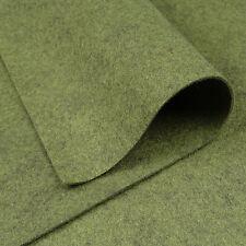 Woolfelt Camouflage ~ 22cm x 90cm / quilting wool felt vintage green army fabric