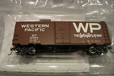 MTH HO Western Pacific 40' PS-1 Box Car 85-74135 NEW WP