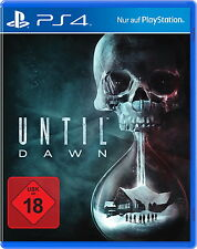 Sony Playstation 4 PS4 Spiel Until Dawn USK 18
