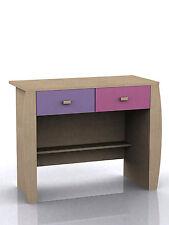 Sydney Pink 2 drawer desk dresser ressing table children's playroom bedroom new