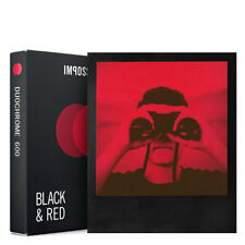 Impossible Project 600 Black / Red DuoChrome Instant Film 8 Photo PRD_4606