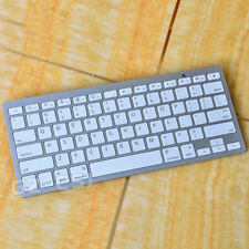 White Wireless Bluetooth Tablet Keyboard for iPad/IOS/Android/ Windows/Samsung