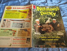 US - Comic 1961 , Everything's DUCKY , No. 1251 , DELL Comics , Original