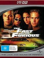THE FAST AND THE FURIOUS (HD DVD)  BRAND NEW!!! SEALED!!!