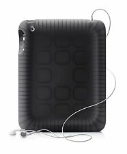 Belkin iPad 2/3/4 Black Silicone Case with Shock Absorption & Impact Protection