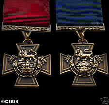 FULL SIZE VICTORIA CROSS MEDAL SET OF TWO  BRITISH ARMY PARA NAVY SAS (VC) COPY