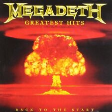 MEGADETH GREATEST HITS - BACK TO THE START CD ALBUM (2005)