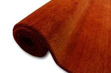 Teppich Gabbeh fein 200x300 cm 100% Wolle terra orange meliert