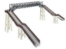 FALLER HO scale - PREMIUM FOOTBRIDGE - plastic model kitset #120179