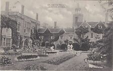 English Postcard. St. Osyth Priory. Clacton On Sea. Essex. Rare Version! 1914