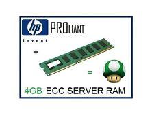 EQ HP 4GB PC3L-10600E DDR3-1333 LV ECC Unbuffered Server Memory Ram 647907-B21
