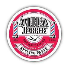 2 x American Barber Styling Paste 100ml we also Sell Hard Muk
