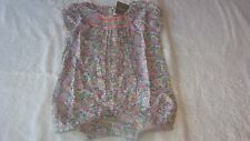 Next 9-12 months FLORAL PLAYSUIT *BNWT* New Outfit Baby Girls Romper Summer