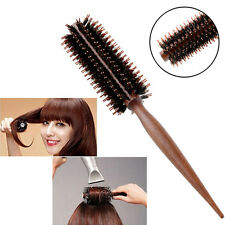 Portable Curly Hair Comb Radial Round Brush Bristle Anti-static Salon Home