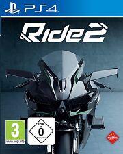 PS4 Spiel RIDE 2 Motorradrennen NEU&OVP Playstation 4 Paketversand