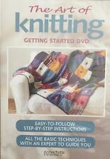 The Art Of Knitting Getting Started Dvd Region 4 Brand New Sealed Free Post