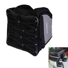 43L Waterproof Bike Rear Seat Tail Bag Bicycle Cycling Pannier Outdoor Rack Bag