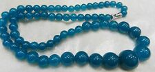 Lovely graduated natural Apatite beaded necklace