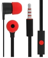 GENUINE HTC FLAT CABLE HANDSFREE HEADSET EARPHONES FOR ONE S V X