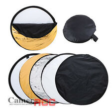 Photo Photography 80cm 5 in 1 Collapsible Multi Light Reflector Studio + Outdoor