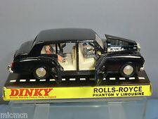 DINKY TOYS  MODEL No.152 ROLLS ROYCE PHANTOM V  LIMOUSINE + PASSENGERS   VN MIB