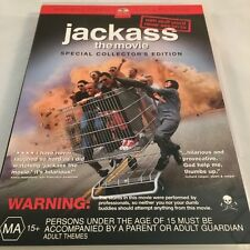 Jackass - The Movie (DVD, 2003) Special Collector's Edition Widescreen R4 PAL