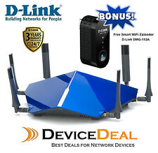 D-Link DSL-4320L TAIPAN AC3200 Ultra Wi-Fi Modem Router + Smart Wifi Extender