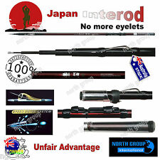 "INTERLINE FISHING ROD 4.5M ""NO EYELET"" FOR SHIMANO DAIWA JARVIS REELS"