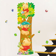 Winnie The Pooh Bedroom Nursery Childs Height Chart Growth Measure Wall Sticker