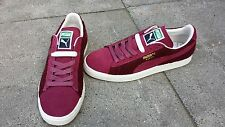 Puma Suede City Classic Sneakers Schuhe Weinrot Burgundy 46 US 12 New