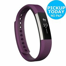 Fitbit Alta Activity and Sleep Small Wristband - Plum :The Official Argos Store